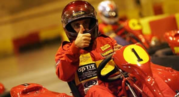 Karting Thumbs Up